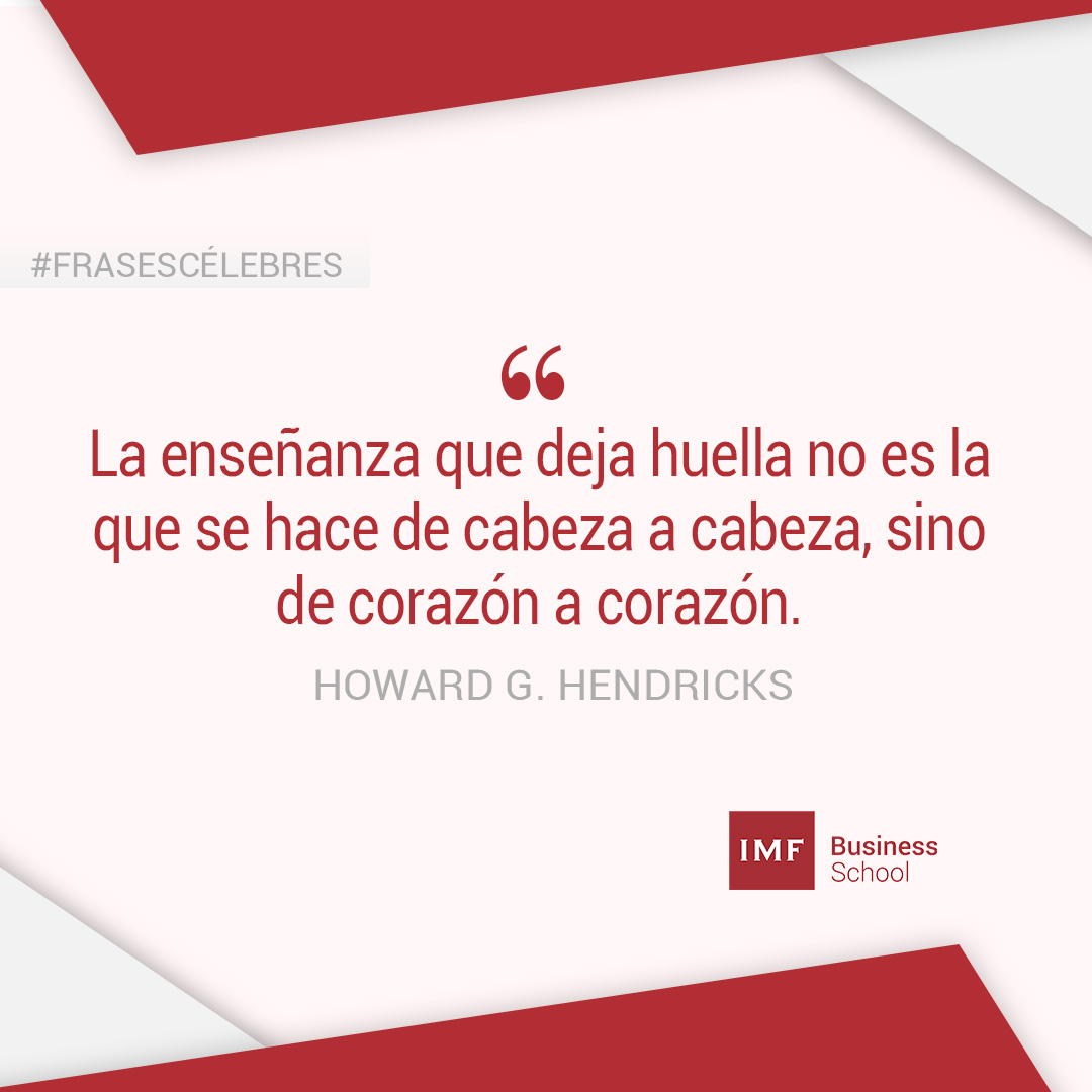 Howard-G-Hendricks Las mejores 15 frases sobre educación