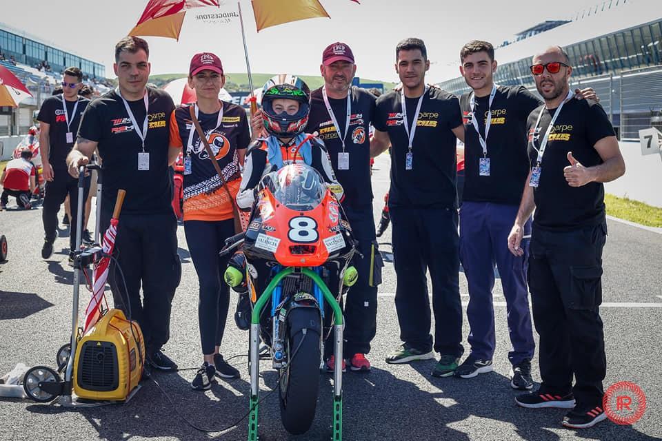 entrevista-david-garcia-minigp El patrocinio de IMF, clave para la trayectoria deportiva del piloto Marco García