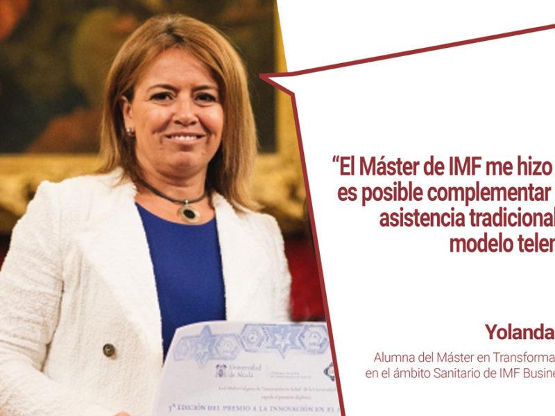 entrevista-alumna-premio-innovacion-sanitaria-800x600 Alumna de IMF Business School obtiene Premio a la Innovación Sanitaria