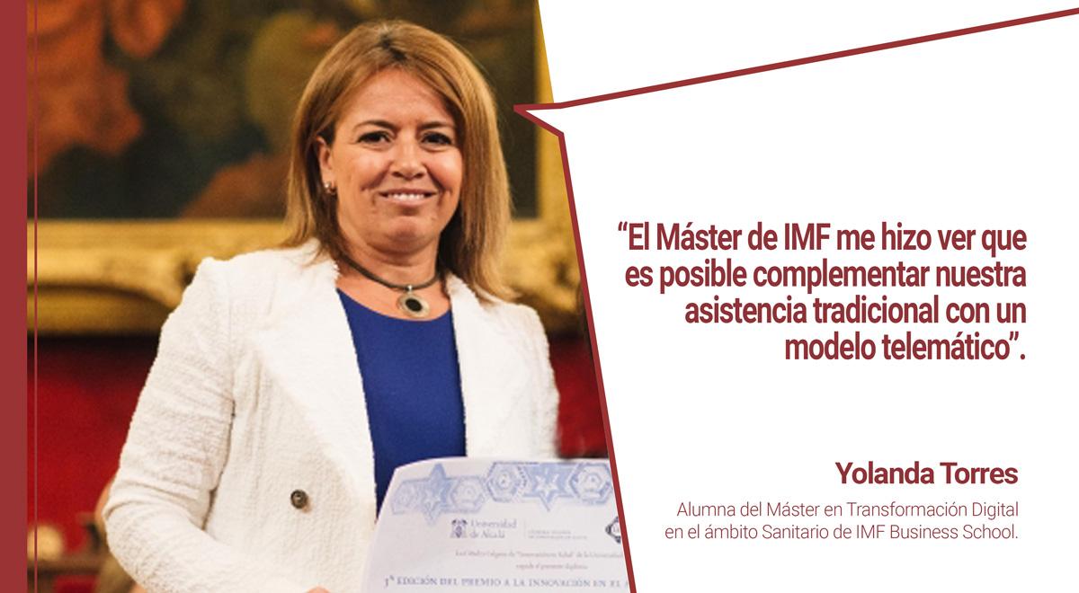 entrevista-alumna-premio-innovacion-sanitaria Alumna de IMF Business School obtiene Premio a la Innovación Sanitaria