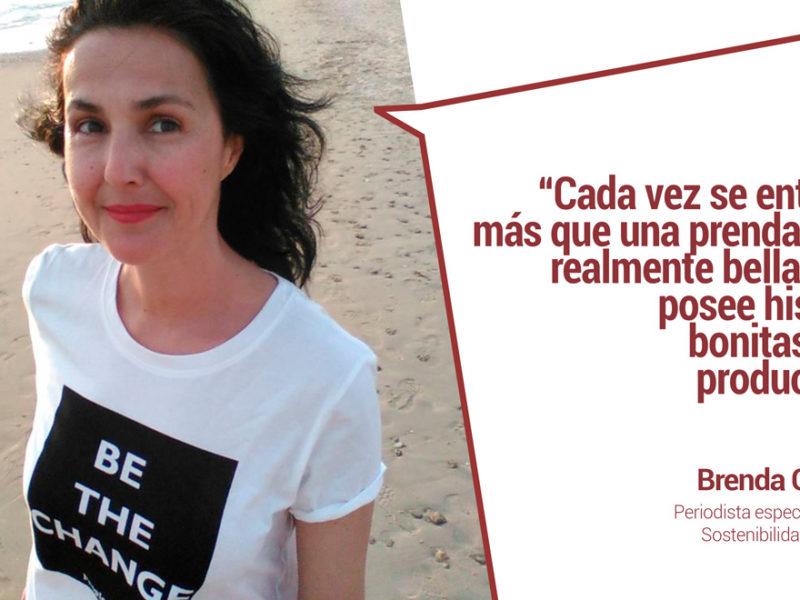 """entrevista-brenda-chavez-periodista-moda-800x600 Brenda Chávez sobre la moda low cost: """"Lo barato nos sale caro a todos"""""""