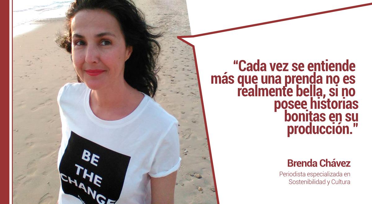"""entrevista-brenda-chavez-periodista-moda Brenda Chávez sobre la moda low cost: """"Lo barato nos sale caro a todos"""""""