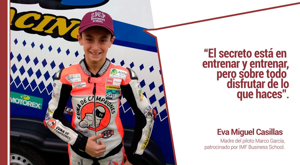 entrevista-piloto-marco-garcia El patrocinio de IMF, clave para la trayectoria deportiva del piloto Marco García