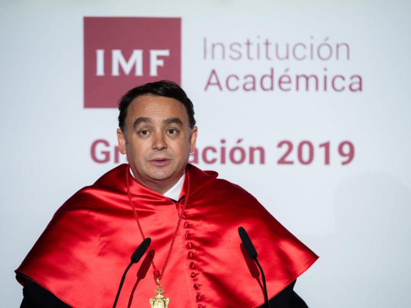 discurso de carlos martinez en la graduacion IMF