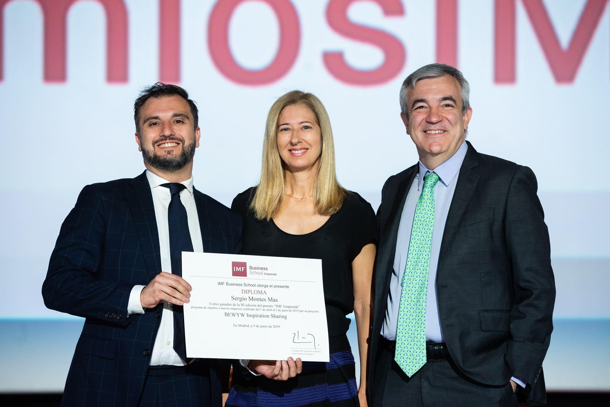 ganador-imf-emprende BEWYW, Startup ganadora de la III Edición de IMF Emprende