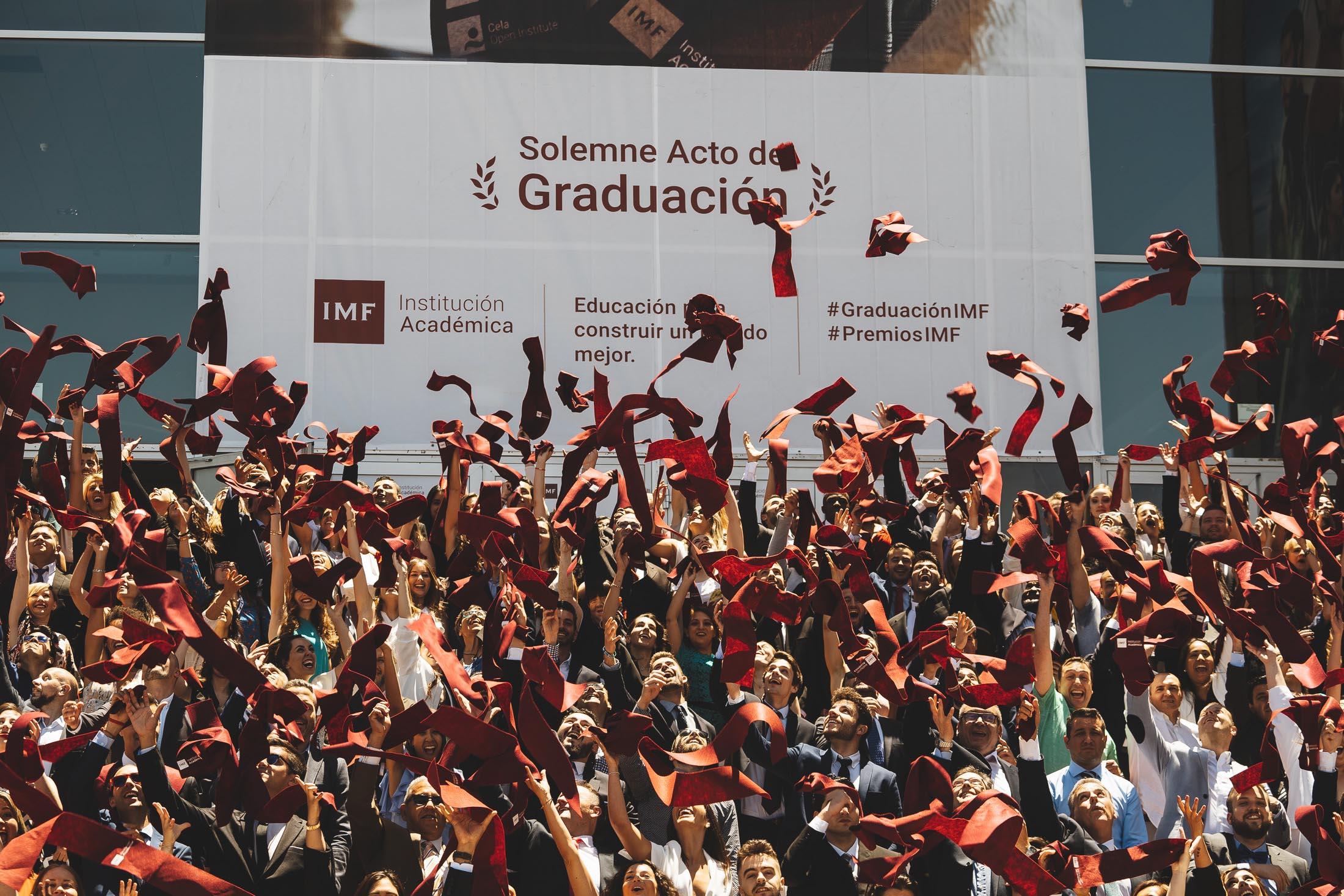 graduacion-imf-2019 IMF Institución Académica celebra una Graduación con guiño a la diversidad #IMFparatodos