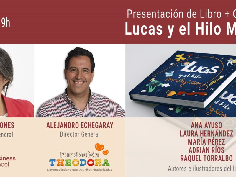 presentacion-libro-concurso-800x600 ¡Participa en este concurso y gana el libro 'Lucas y el hilo mágico'!