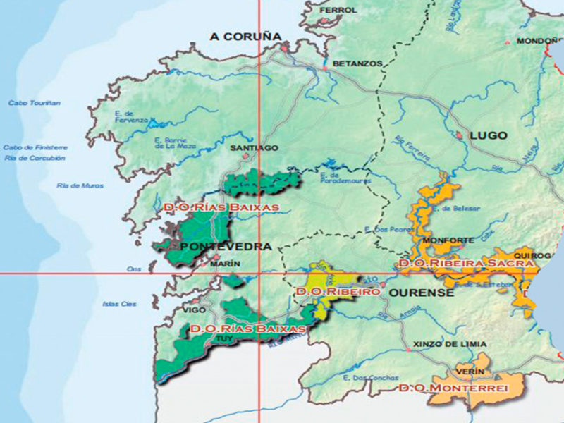 zonas vinivolas galicia