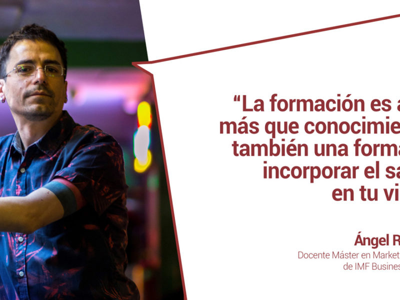 angel roman profesor de marketing