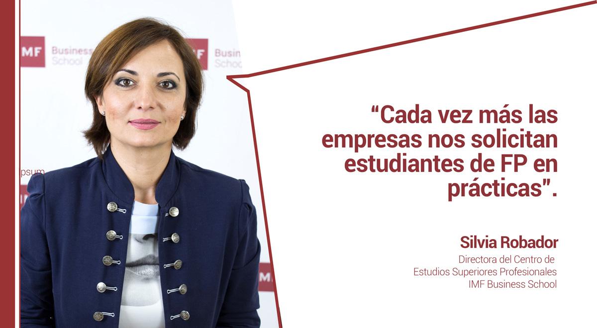 entrevista-silvia-robador Silvia Robador: Cada vez más las empresas nos solicitan estudiantes de FP en prácticas