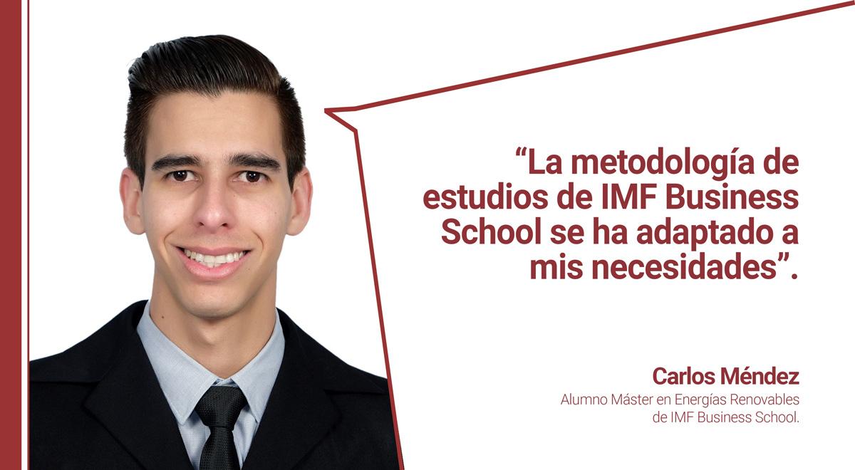 metodologia-imf-opinion-carlos-mendez Carlos Méndez: La metodología de IMF se ha adaptado a mis necesidades