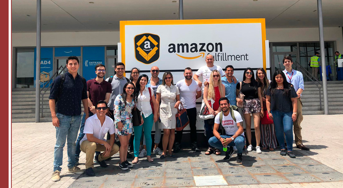 viista-estudiantes-amazon Los estudiantes de IMF conocen Amazon por dentro