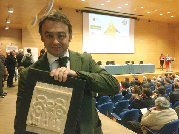 Carlos-Martinez_PremiosPrever2013_2 IMF: Premio Prever 2013 por su labor en Prevención de Riesgos Laborales