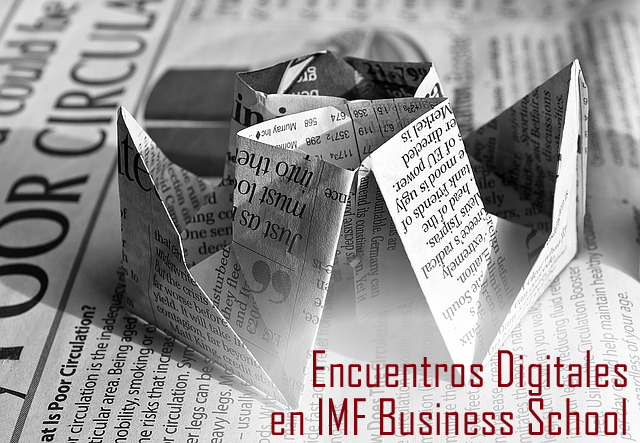 ENCUENTROS_DIGITALES Encuentros Digitales: César Horcajo, Tutor de Marketing en IMF