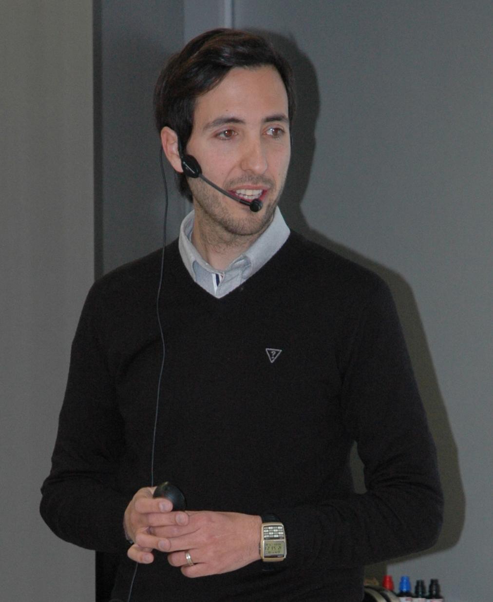 Foto-DavidBlay Encuentros Digitales: David Blay, periodista y narrador de eventos deportivos en radio