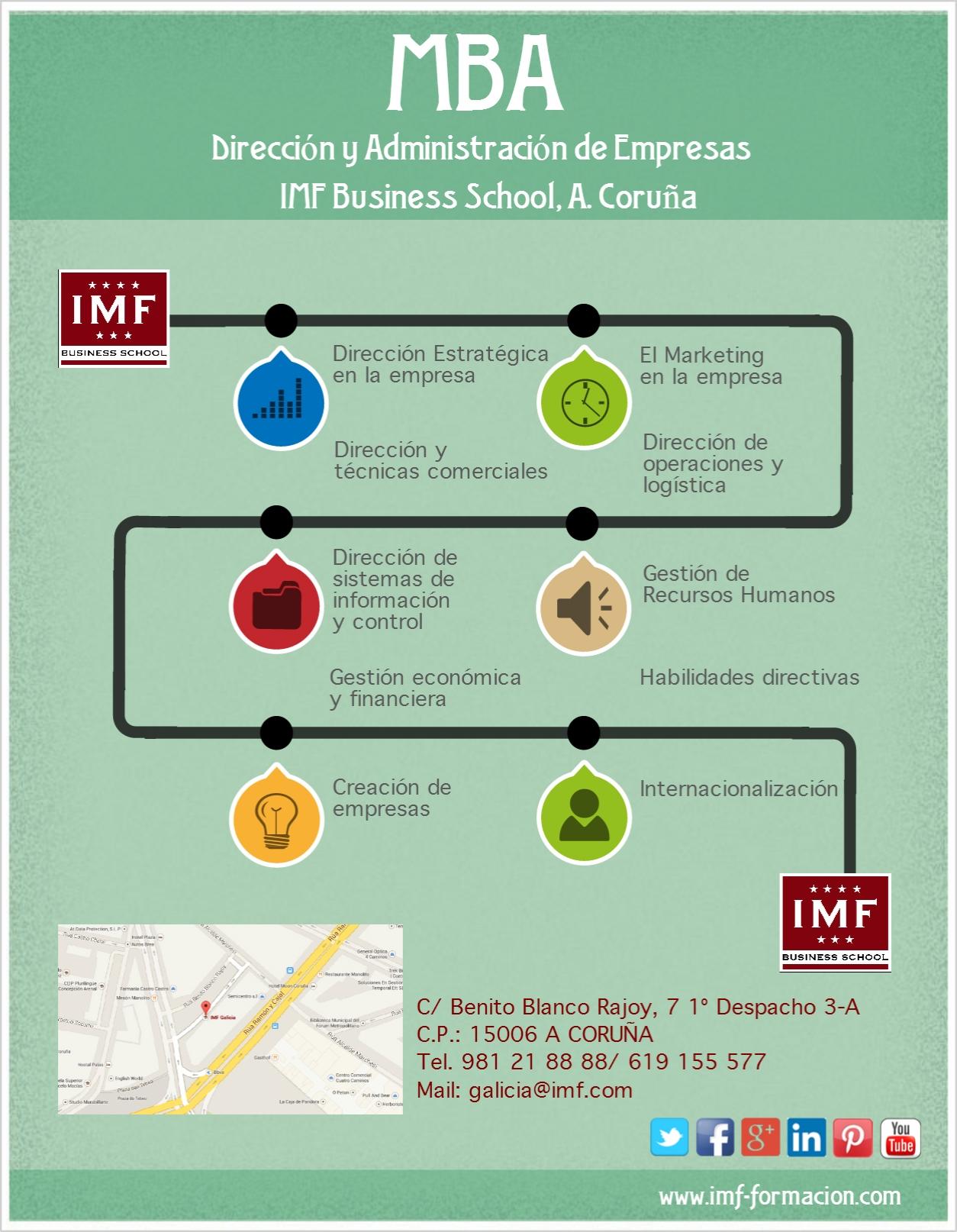 MBA_ACORUÑA_IMF 1ª Edición del MBA Semipresencial en A. Coruña