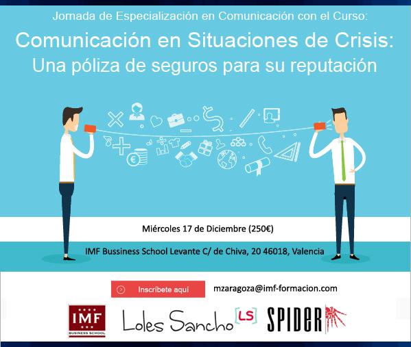 jornadas_valencia_2 17 Diciembre: Jornada de Especialización en Comunicación de Crisis