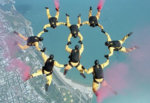 skydiving-658404_640 Dignificar el puesto de trabajo