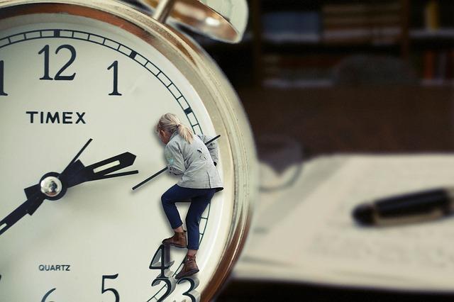 time-488112_640 Cada día tengo menos tiempo