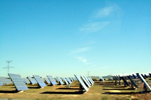 planta de energía solar, energías renovables