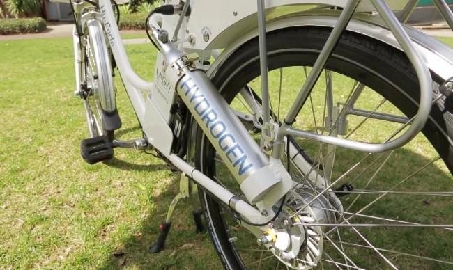 Biclicletas de hidrógeno para movilidad urbana