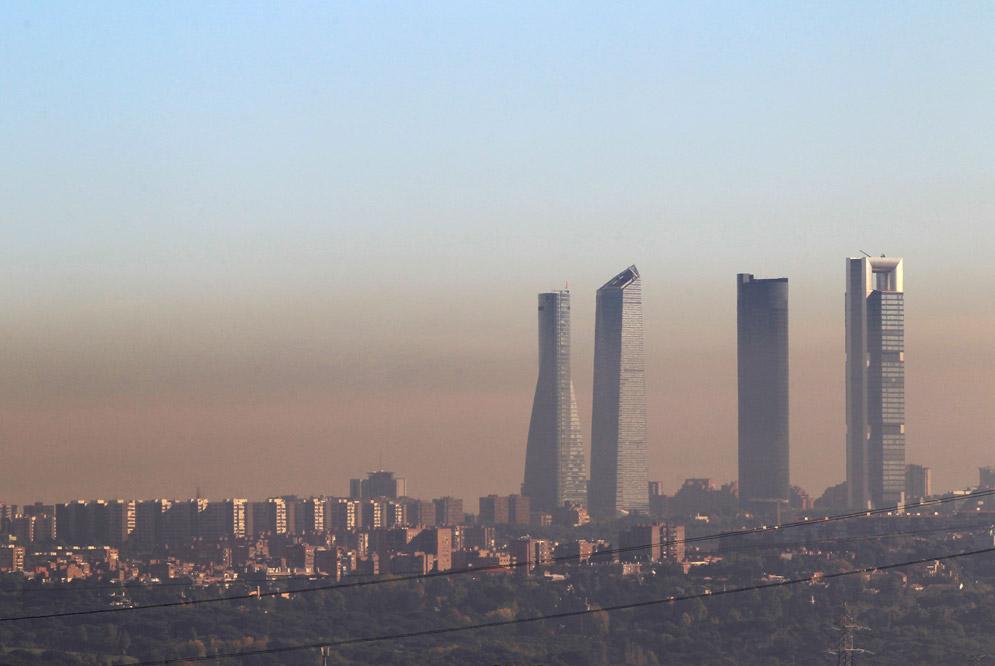 plan de choque contra la contaminación en Madrid