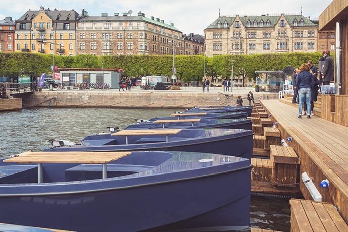 Barcas renovables y reciclados en Copenhage