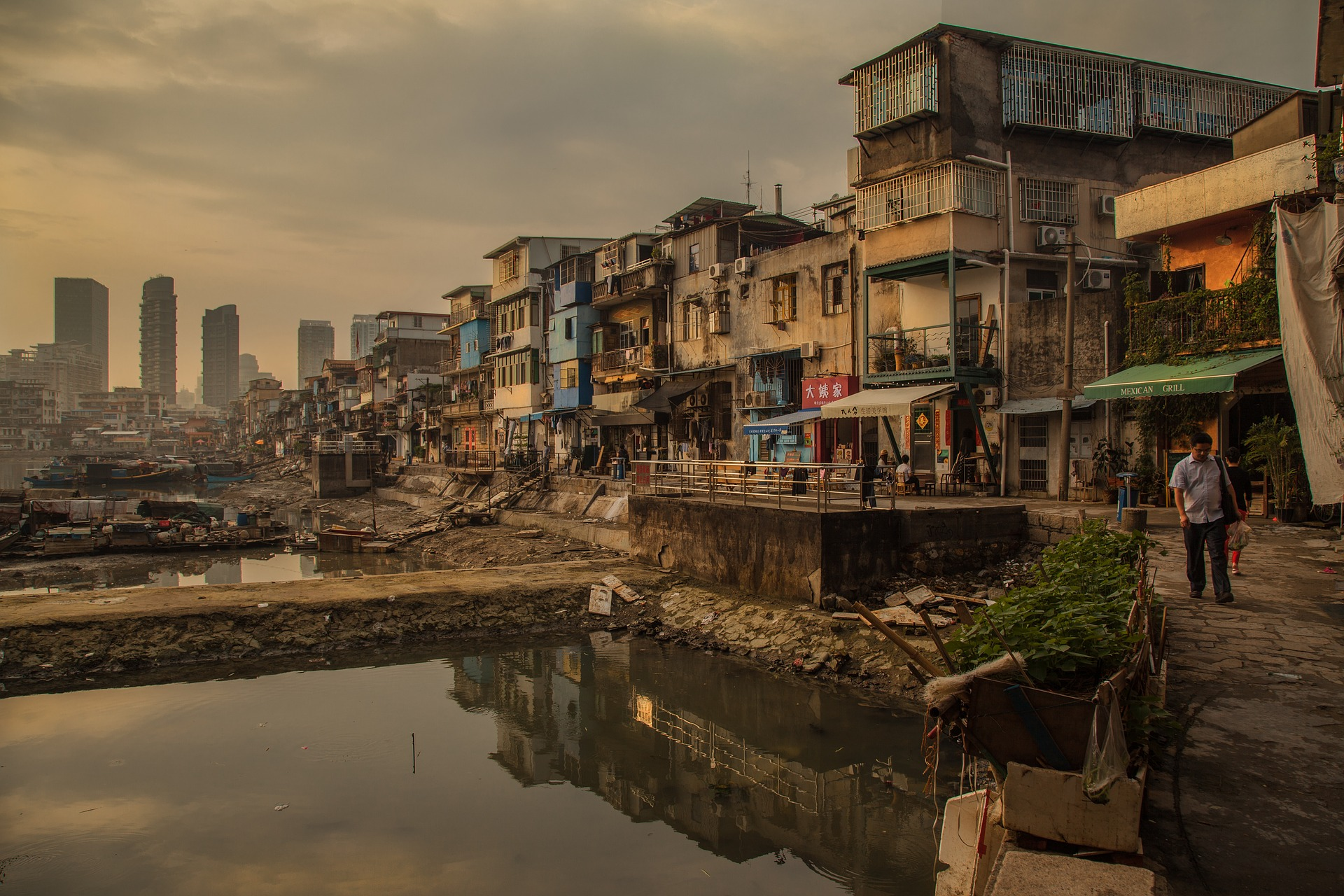 ¿Sostenibilidad sin equidad? Suburbios de Xiamen