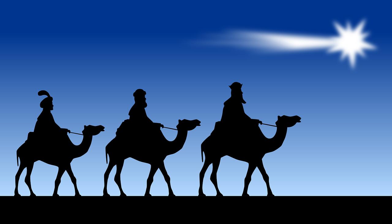 Tres Reyes Magos traen reciclaje
