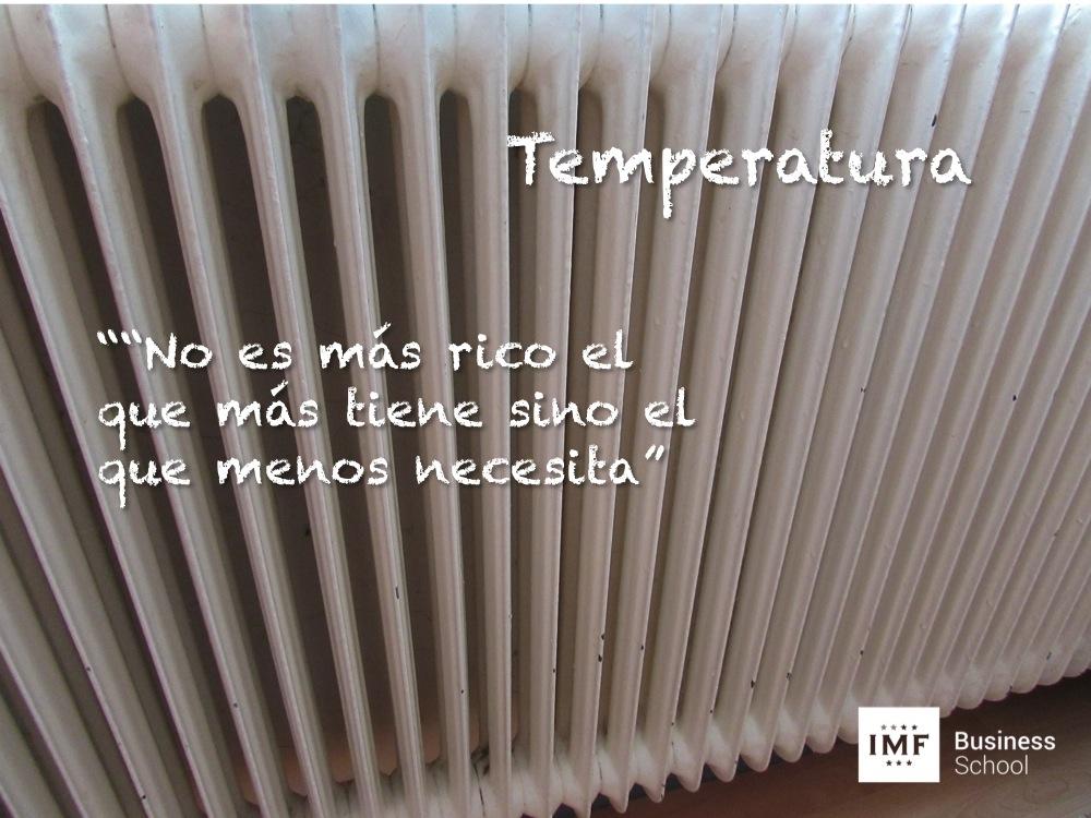 Eficiencia Energética. Mejorar temperatura en el hogar