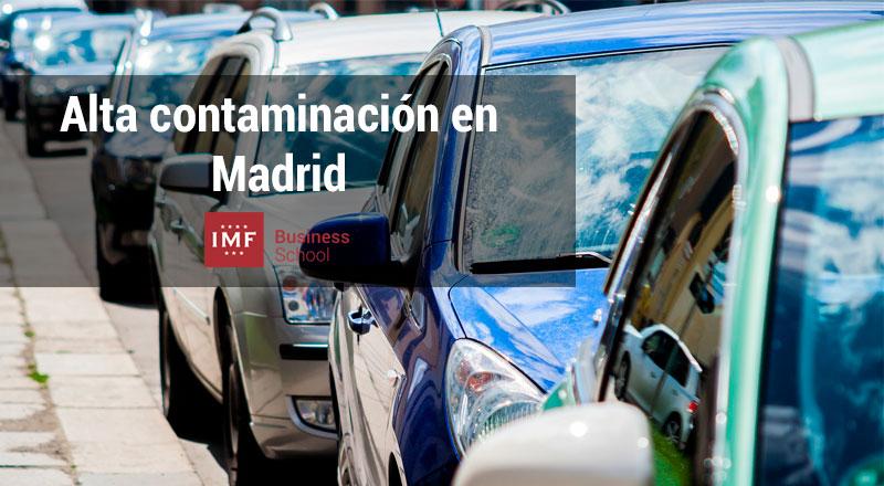 medidas tomadas por la alta contaminación en Madrid