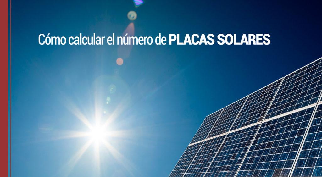 Cómo calcular las placas solares
