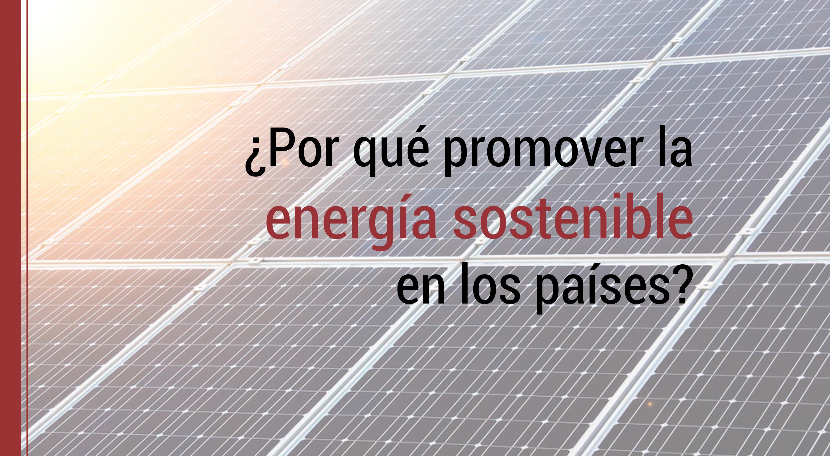 energia sostenible en los paises