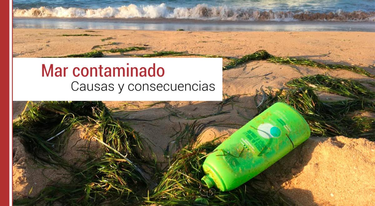causas de la contaminación del mar