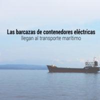 barcazas de contenedores electricas