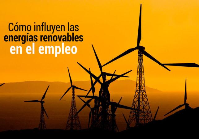 influencia de las energias renovables en el empleo