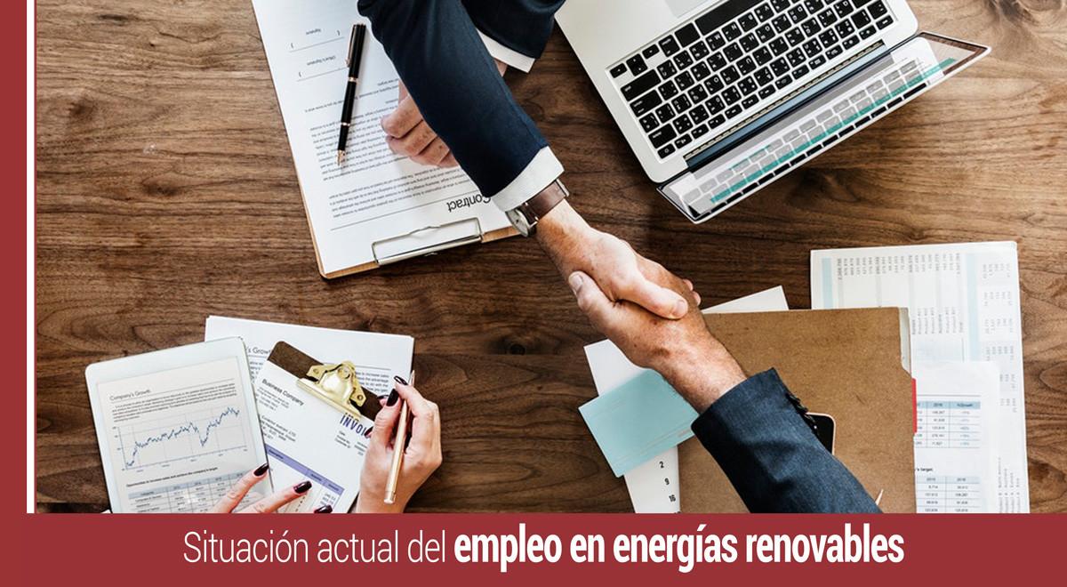 el empleo en energias renovables