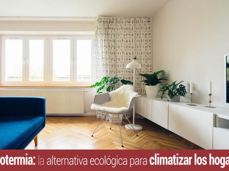 la aerotermia para climatizar el hogar