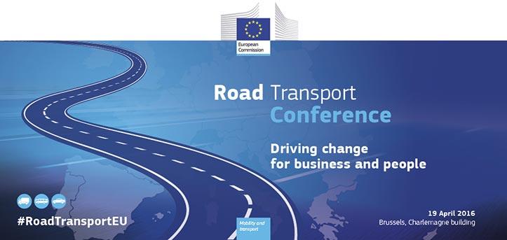 Conferencia Unión Europea de Trasportes 2016