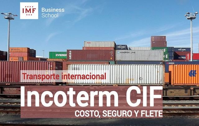 Inconterm CIF, costo seguridad y flete