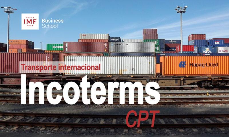 Incoterm CPT, transporte internacional