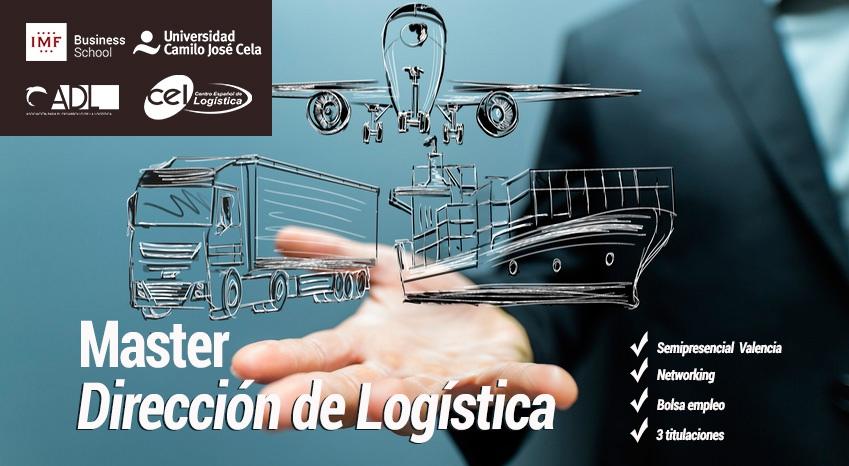 1 edici n del master en direccion de log stica for Universidad valencia master