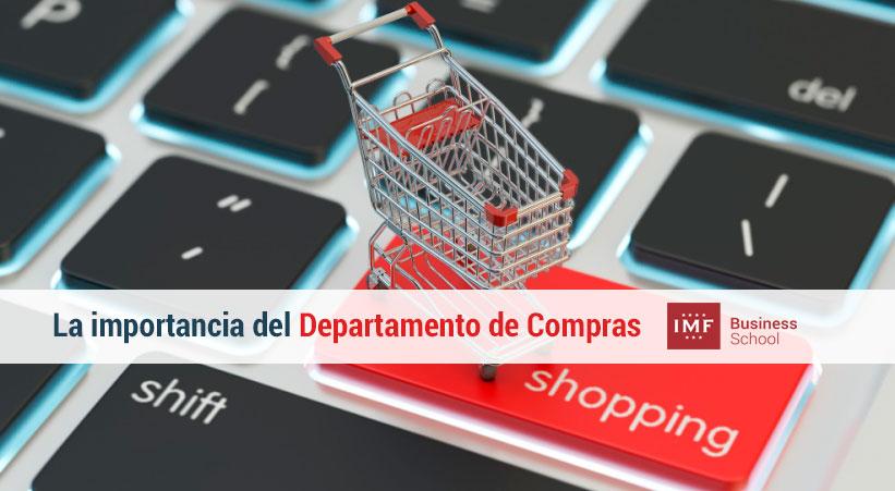 importancia del departamento de compras en el negocio