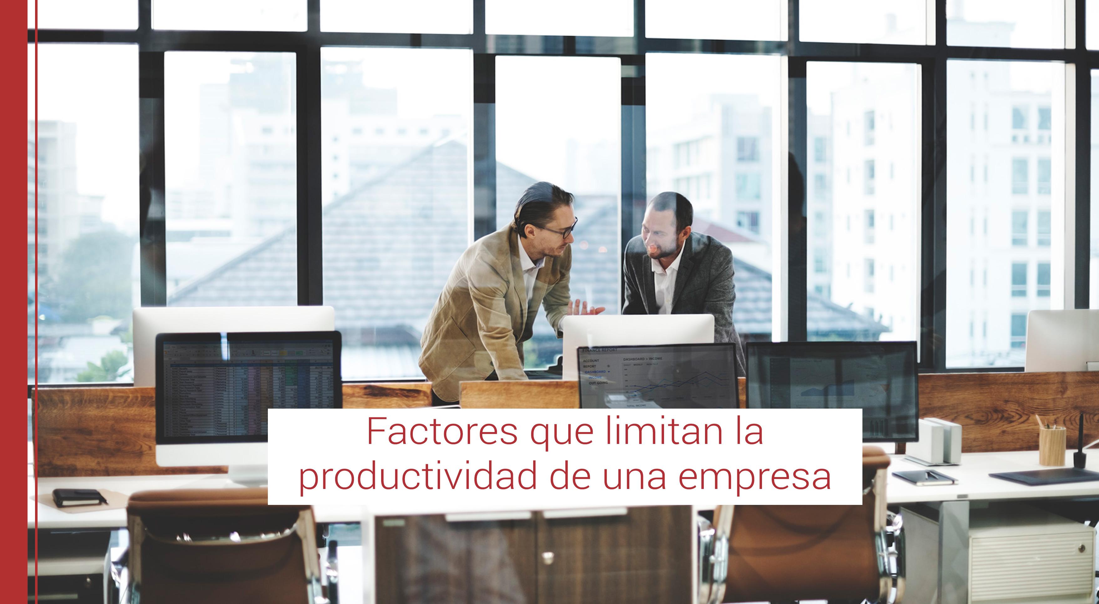 factores segun lean que limitan la productividad de una empresa