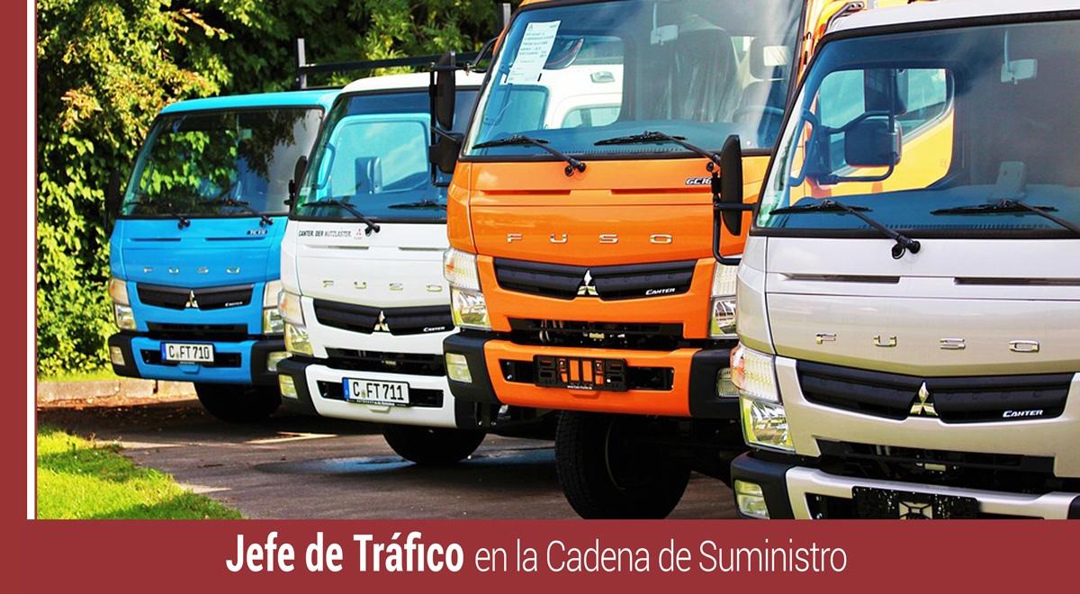 funciones del jefe de trafico de la cadena de suministro