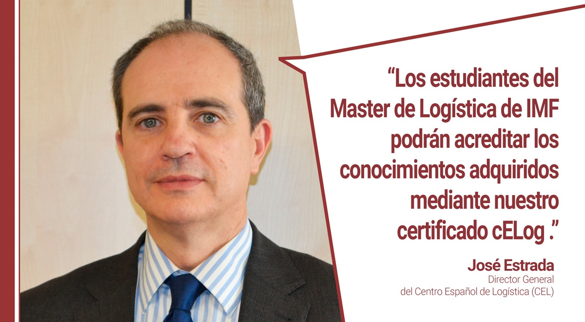 Entrevista José Estrada, Director General CEL - Logística