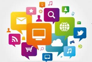Iconos marketing online - social media - Blog IMF