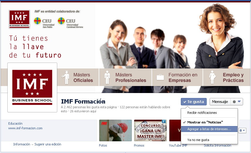 Facebook IMF Business School