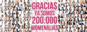 Redes Sociales Verticales: Womenalia