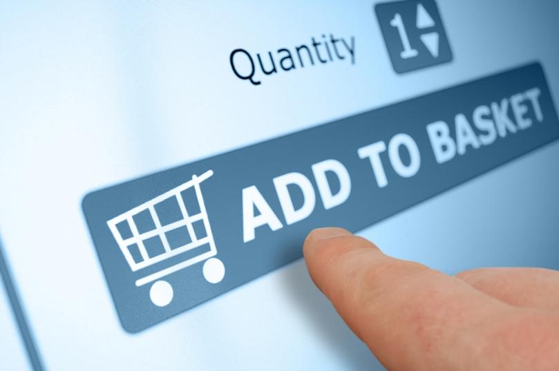 añadir a la cesta de la compra - tienda online